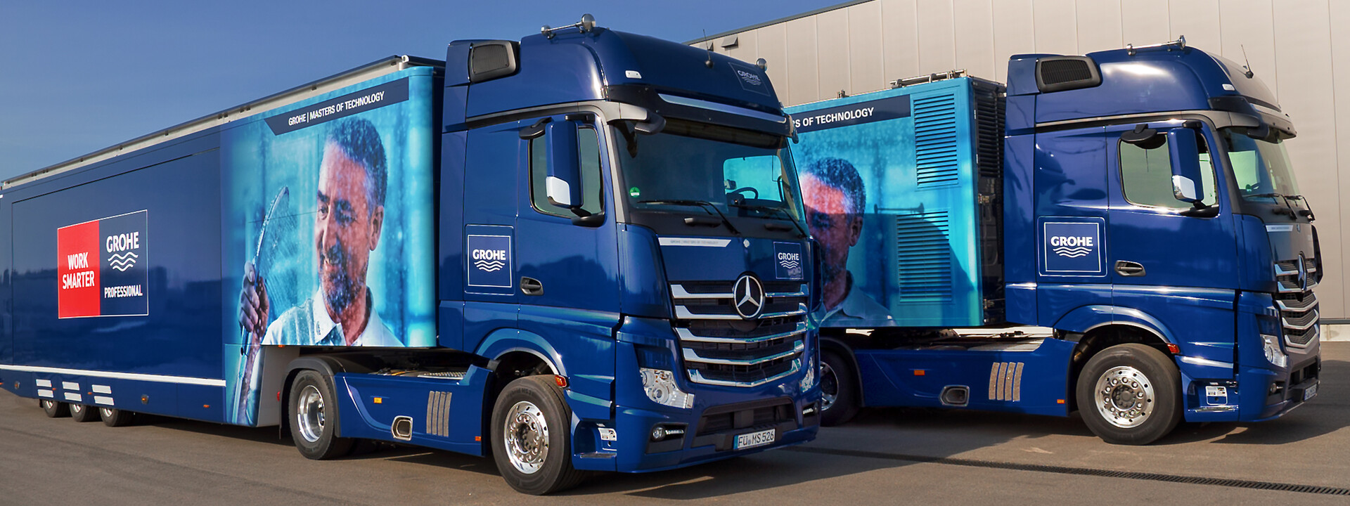 GIANT Grohe Showtrucks